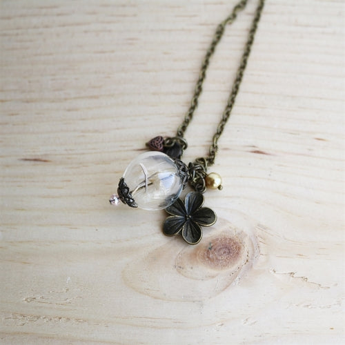 Make a Wish Dandelion Necklace - Krafty Chix New