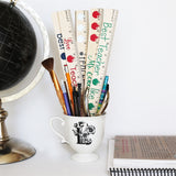 Personalized Rulers Teacher Gift - VioletFox