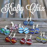 Football Game Day Earrings - Krafty Chix