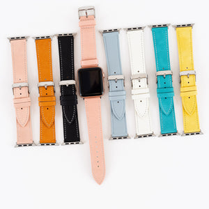 Faux Leather Apple Watch Bands