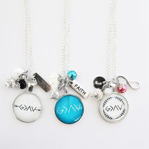 God is Greater Necklaces - Krafty Chix
