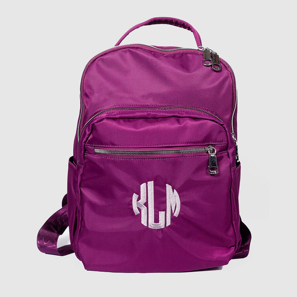 Monogrammed School Backpack - Clearance