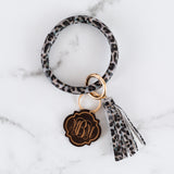 Monogram Bangle Ring Keychain