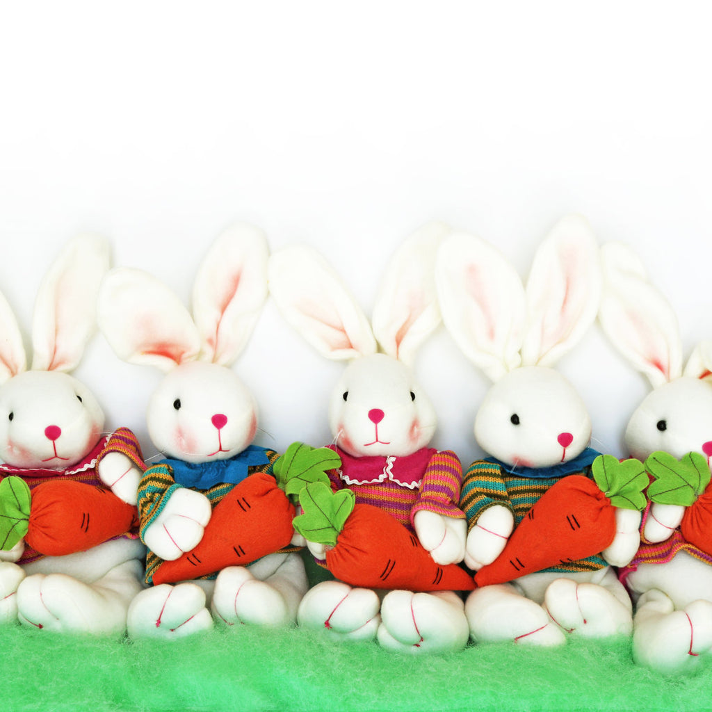 Easter Bunnies | 2 Colors - Krafty Chix New