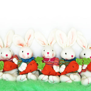 Easter Bunnies | 2 Colors - Clearance - Krafty Chix