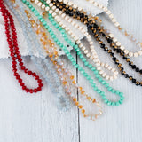 Hand Knotted Beaded Lanyard