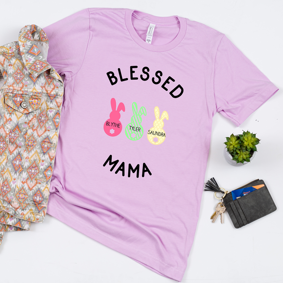Blessed Mom/Grandma Easter Tees