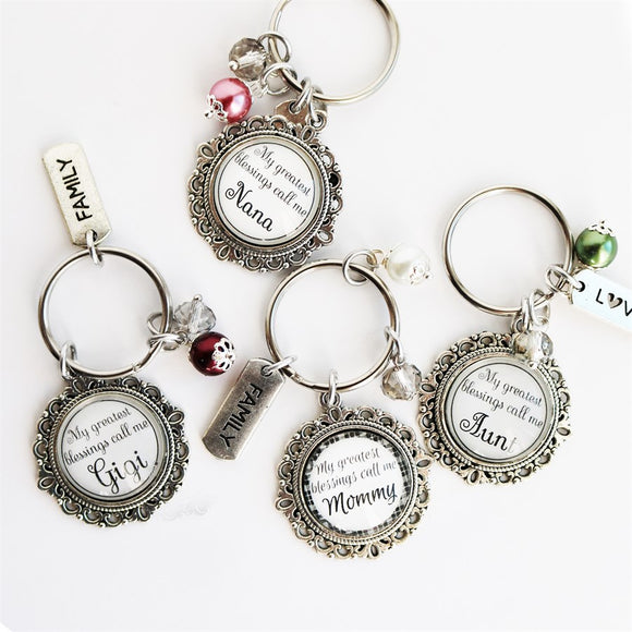 My Greatest Blessings Key Chains - Krafty Chix