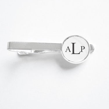 Monogram Cuff Links or Tie Clip - Krafty Chix New