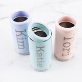 Personalized Steel Skinny Can Cooler