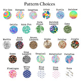 Patterned Mask Clips | S Shape