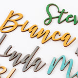 Personalized Wooden Name Accessory
