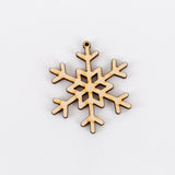 DIY Snowflake Ornaments | Set of 30