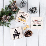 Farmhouse Holiday Tier Tray Signs | Set of 2