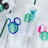 Starbucks Cold Cup - Character Inspired