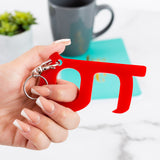 No-Contact Door Handle Opener with Key Ring