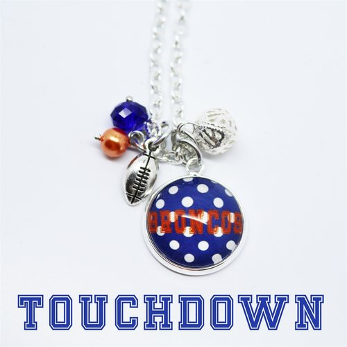 Football Game Day Necklace - Krafty Chix New
