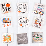 Fall Tier Tray Signs | Set of 2