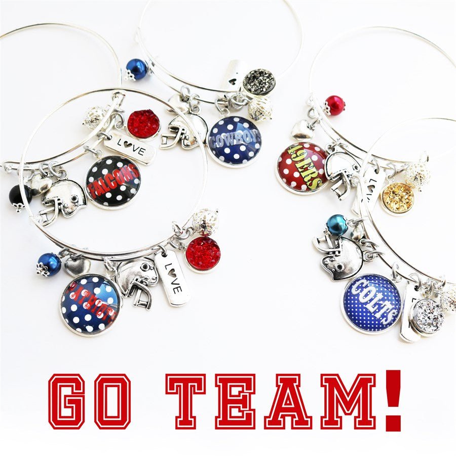 Football Game Day Bangle - Krafty Chix New