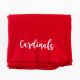 Personalized Game Day Fleece Blankets