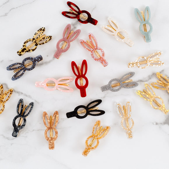 Bunny Hair Clips | 4 Pack