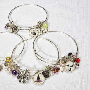 Spooky Halloween Bangle