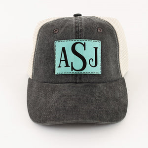 Monogram Patch Trucker Hat