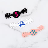 Monogram Ear Saver Mask Clip