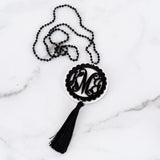 Monogram Layered Jenna Necklace