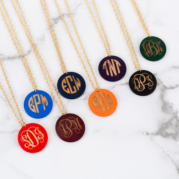 Monogram Jacie Necklace