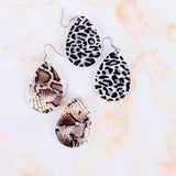 Patterned Acrylic Earrings