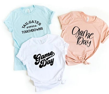 Go Team Game Day Tees