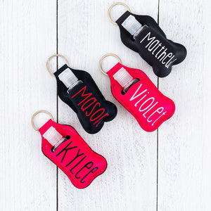 Hand Sanitizer Keychain Holder - Personalized