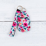 Hand Sanitizer Keychain Holder - Patterned