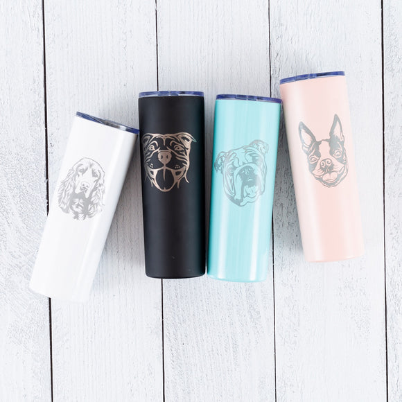 20 oz Dog Lover Tumblers