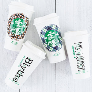 Personalized Starbucks Hot Cup