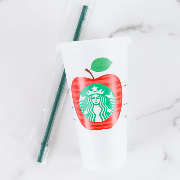 Starbucks Cold Cup - Teacher Appreciation
