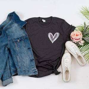 Heart Graphic Tees