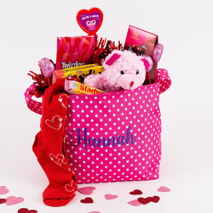 Personalized Valentine Buckets
