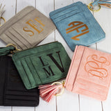 Monogrammed Delaney Small Wallet