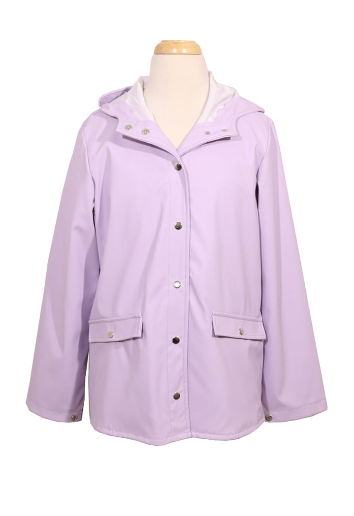 CoffeeShop Girls Rain Coat