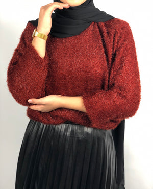 Pull cosy oversize