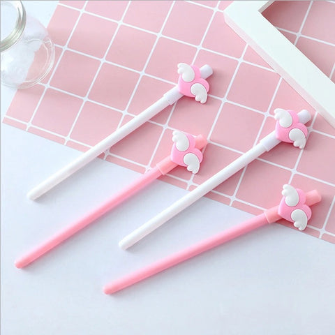 Angel Wings Heart Pen (2pcs set)