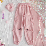 Pink Heart Joggers