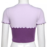 Lilac breeze crop top 💜