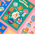 Milkjoy Cake Bear Stickers 🧸
