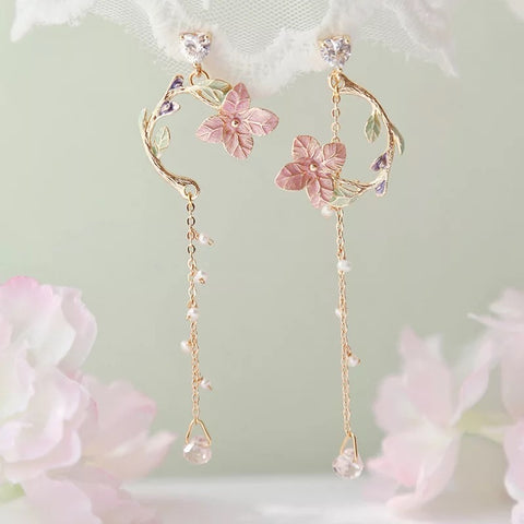 Sakura Bliss Dangle Earings
