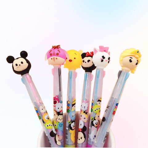 TsumTsum Disney Characters 3 colors pen