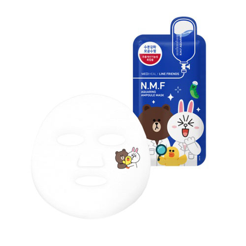 Mediheal - Line Friends Edition - N.M.F Aquaring Ampoule Mask (One Piece)