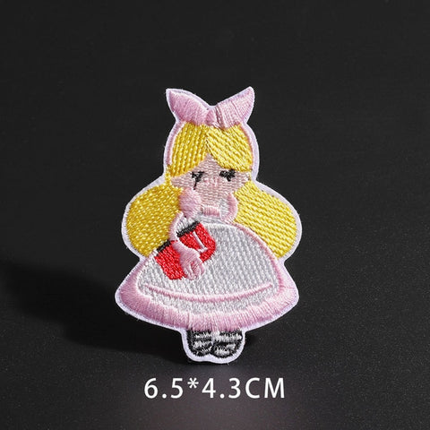Cartoon Japanese Alice Patch